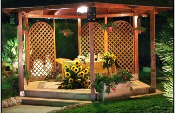 Outdoor Gazebo Lighting Home Design Ideas Kxp Qgzpko