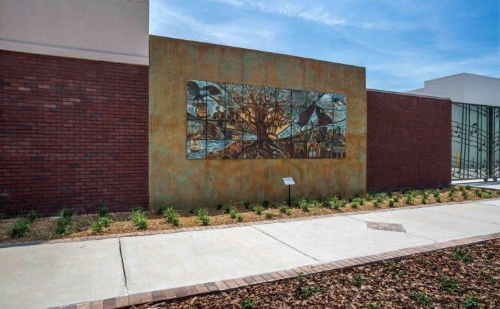 Outdoor Installations Tile Murals Natalie Blake Studios
