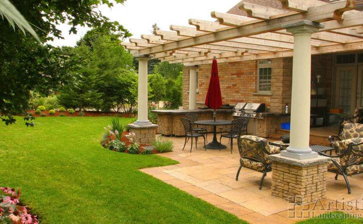 Outdoor Kitchen Designs Bbq Rooms Artistic Landscaping Inc