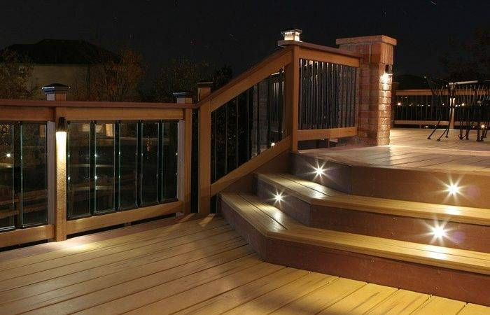 Outdoor Led Recessed Stair Light Kit Pack Dekor Lighting