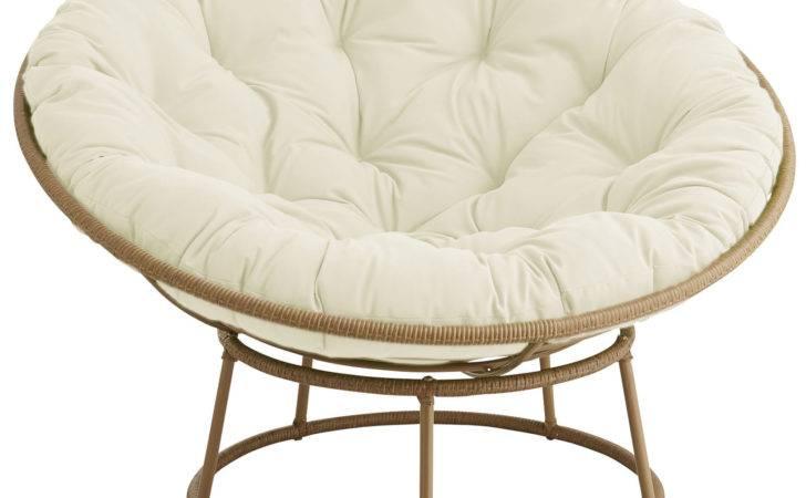 Outdoor Light Brown Papasan Chair Frame Pier Imports