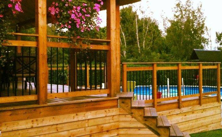 Outdoor Living Awesome Deck Home Pinterest