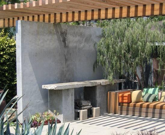 Outdoor Living Room California Landscape Ideas Contemporary