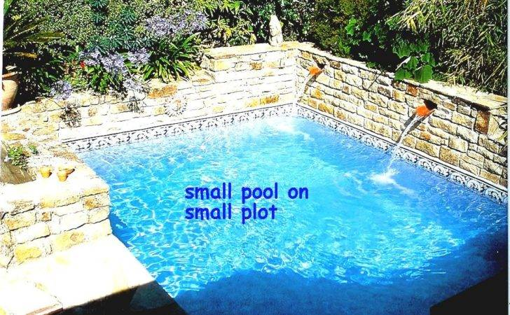 Outdoor Magnificent Small Pool Ideas Cost