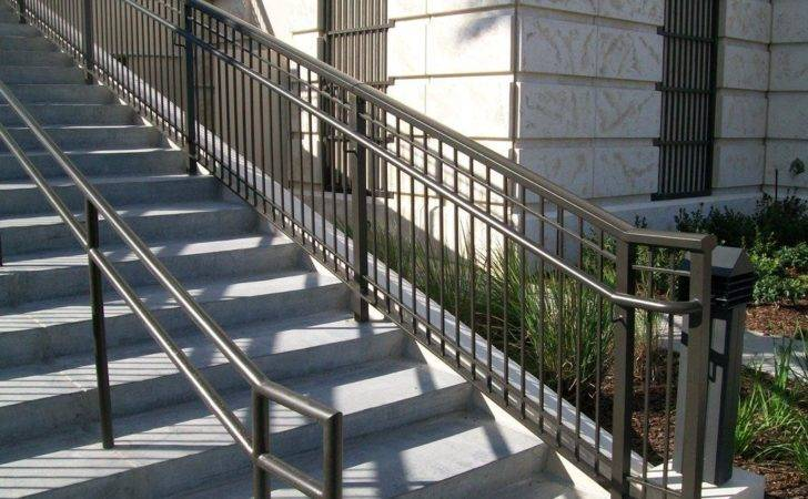 Outdoor Metal Stair Railing Kits Wrought Iron Railings