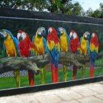 Outdoor Mural Ideas New Little House Redo Gardens