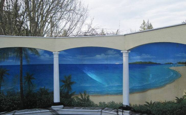 Outdoor Murals Dress Sheds Garages Blank Walls