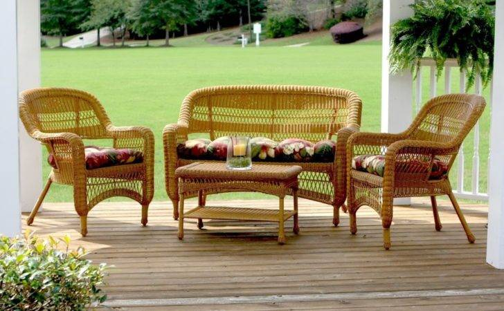 Outdoor Patio Wicker Furniture High End Resin Set