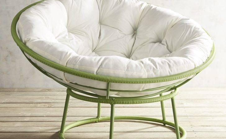 Outdoor Peridot Green Papasan Chair Pier Imports