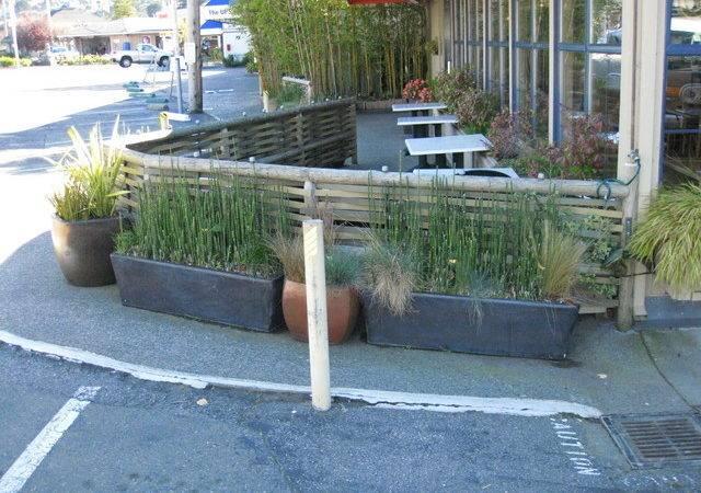 Outdoor Restaurant Seating Area Asian Patio San Francisco