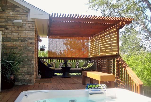 Outdoor Room Austin Contemporary Patio