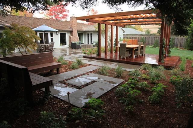 Outdoor Rooms Contemporary Landscape Other Metro Garden