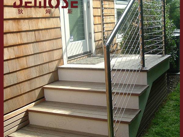 Outdoor Stair Railing Kit Stainless Steel Cable Systems Buy