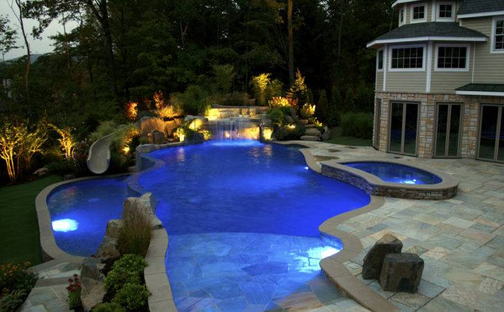 Outdoor Swimming Pools Designs Ideas Gorgeous Pool