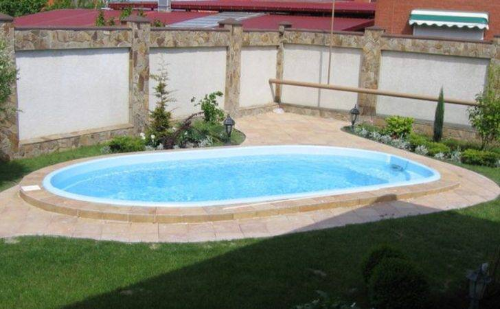 Oval Above Ground Pool Deck Plans Small Yard Ideas Luxurious