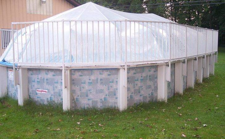 Oval Above Ground Pool Sundome Replacement Cover Solar Sun Dome Heater