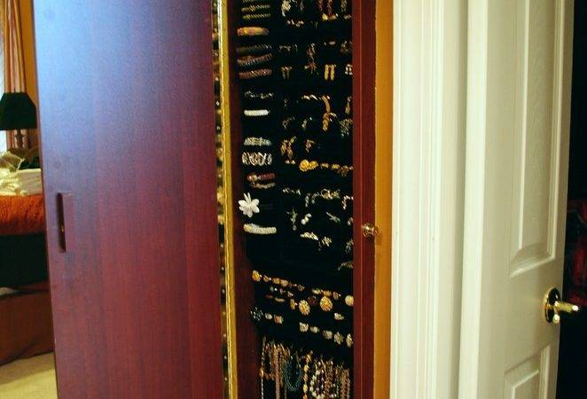 Over Door Jewelry Armoire Mirror Cabinet Qvc Decorating Ideas