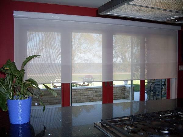 Oversized Window Blinds Large Windowsrose Sun Coverings
