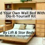 Own Wall Bed Yourself Kit Lift Stor Beds Youtube