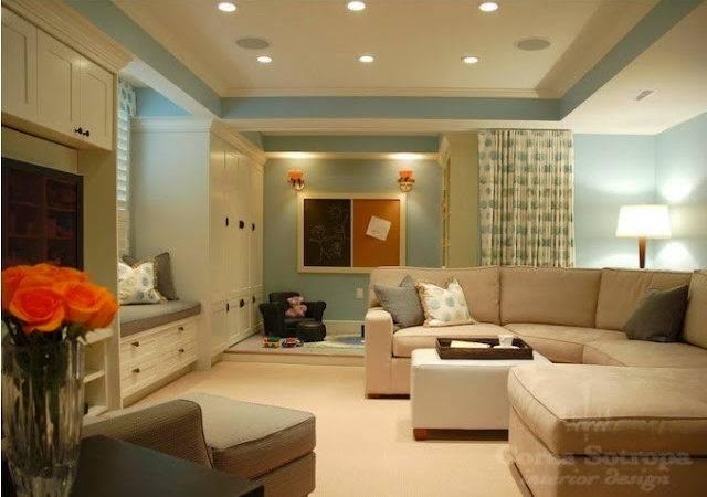 Paint Color Ideas Basement Room