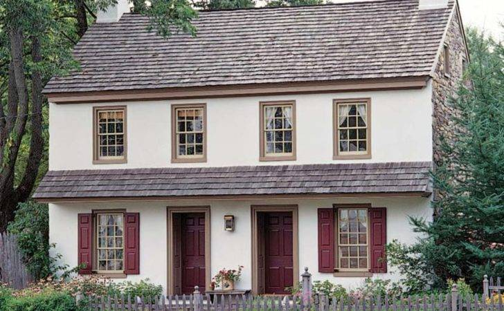 Paint Palettes Colonial Revival Houses
