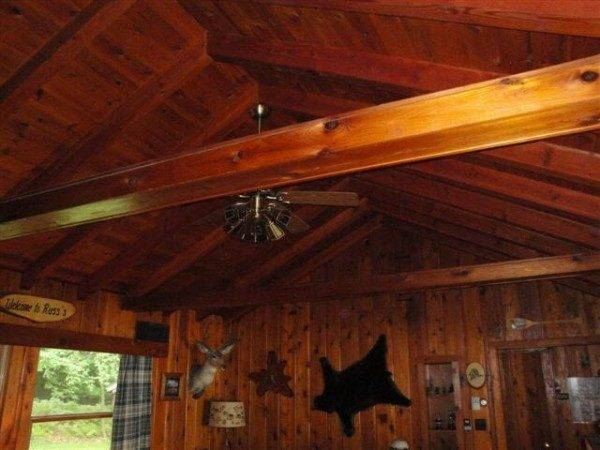 Paint Paneling Cabin Diy