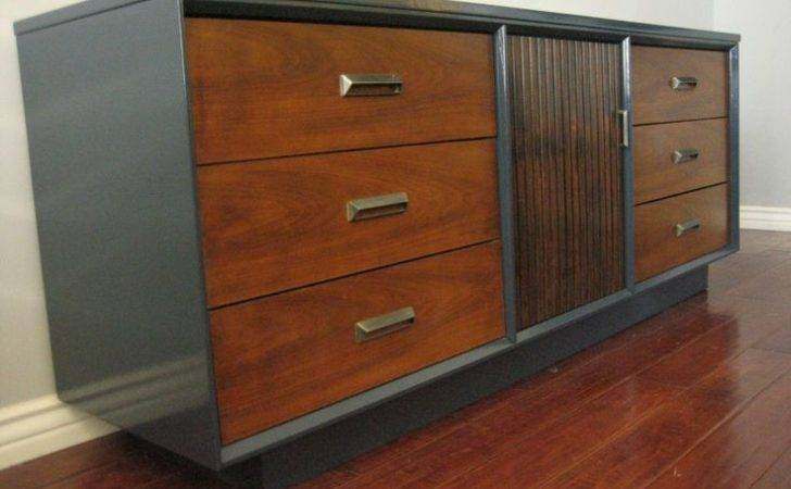 Painted Mid Century Furniture Project Inspiration Pinterest