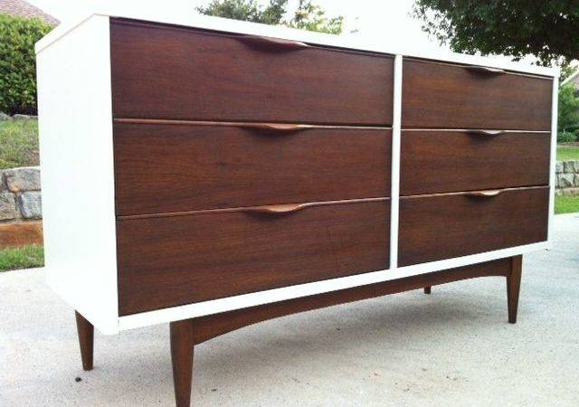 Painted Mid Century Modern Dresser Furniture Pinterest