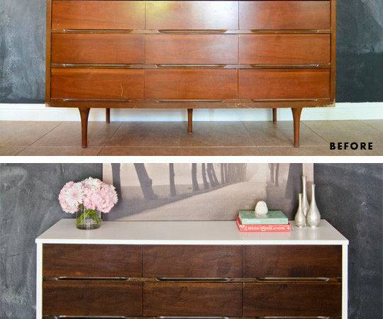 Painted Mid Century Modern Furniture Also China Cabi