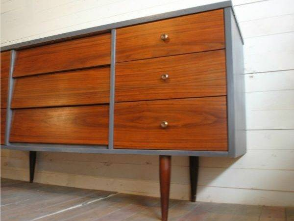 Painted Mid Century Modern Furniture Pinterest