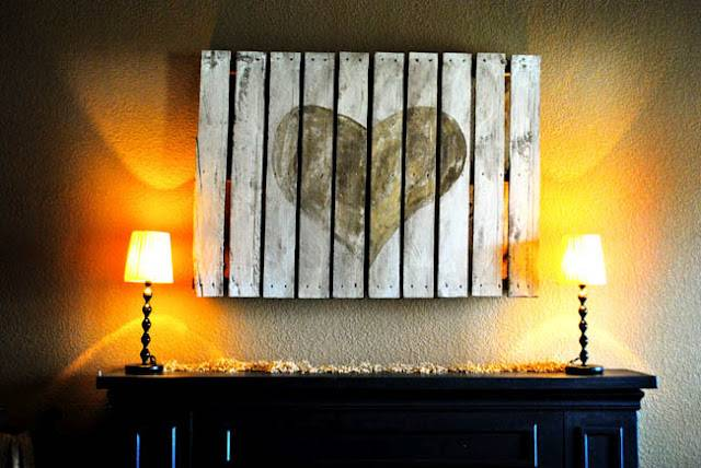 Painted Pallet Wall Art Should Mopping Floor