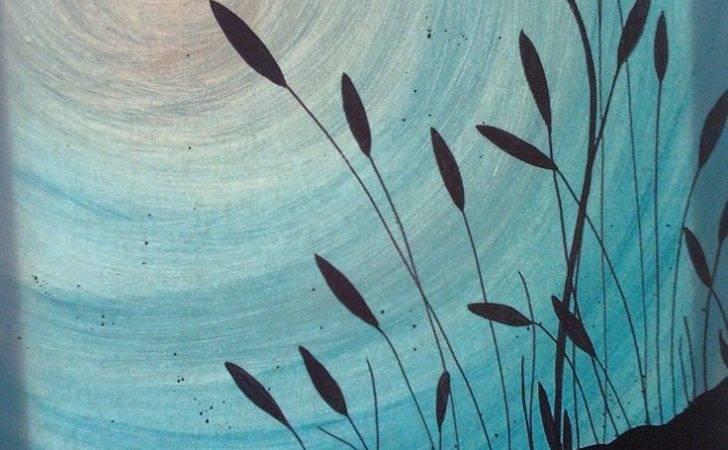Painting Monochromatic Paintings Ideas Acrylic