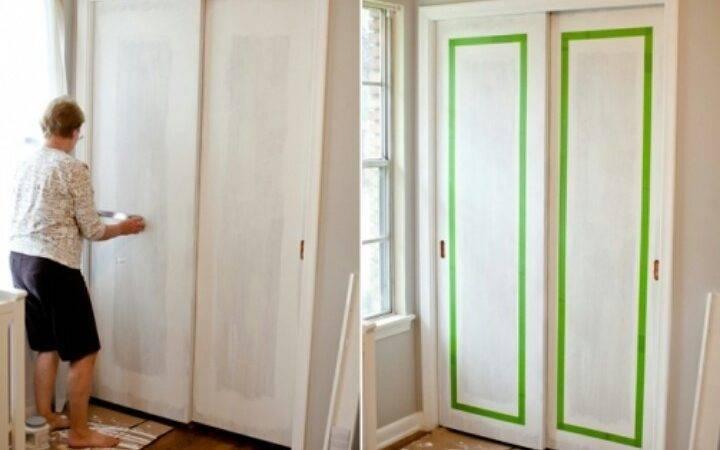 Painting Sliding Closet Doors Sadalewis