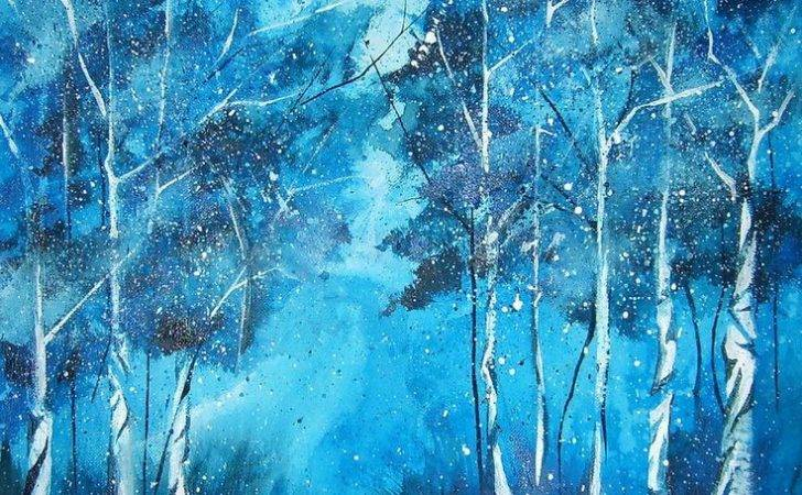 Paintings Landscapes Diy Painting Watercolor