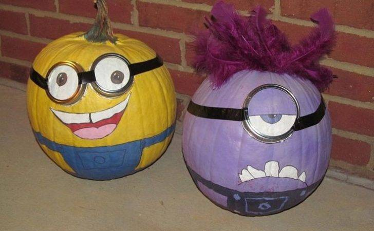 Paintings Pumpkin Minions Halloween Ideas Holidays Seasons