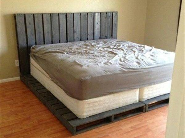 Pallet Addicted Bed Frames Made Recycled Pallets