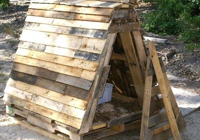 Pallet Dog House Plans Bring Luck Home