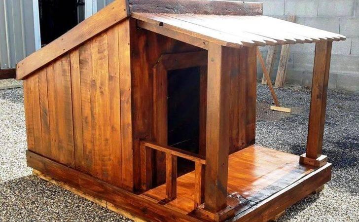 Pallet Dog House Step Plan Diy Crafts