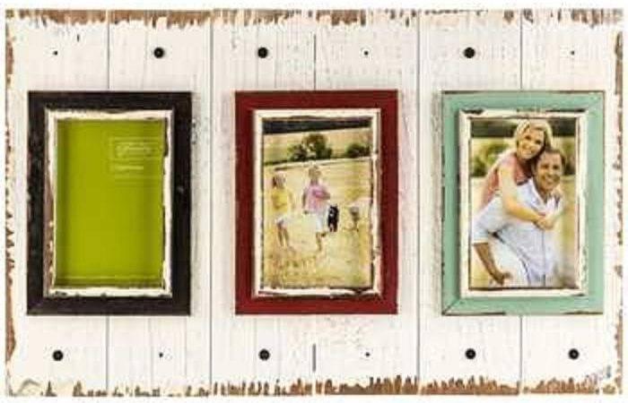 Pallet Opening Collage Frame Shabby Chic Decor Very Lovely Ebay