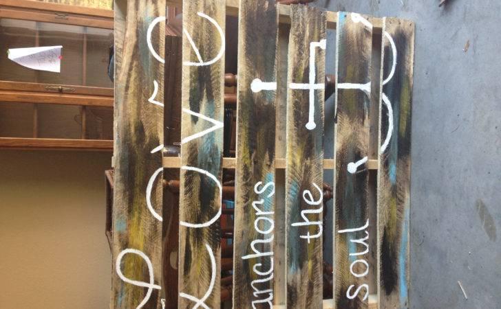 Pallet Paint Wood Stain Painting Pinterest