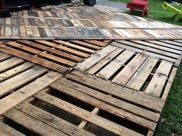 Pallet Projects Deck Diy Ideas Instructions Pallets