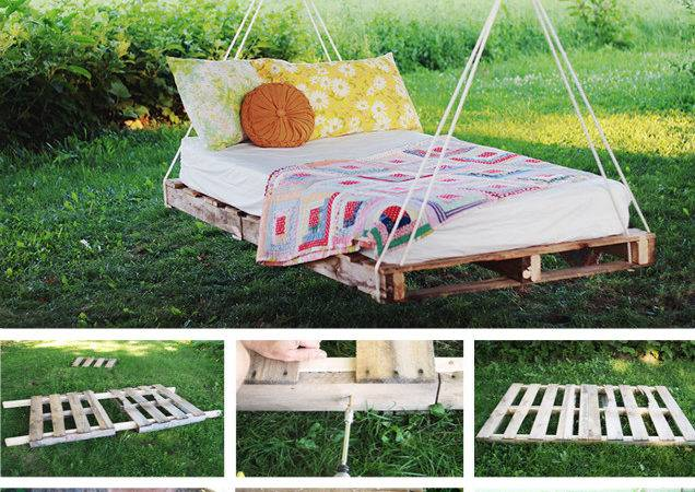 Pallet Swing Bed Whoot