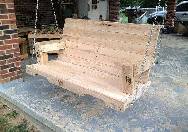 Pallet Swing Bench Plans