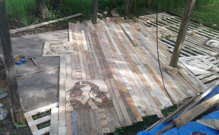 Pallet Wood Deck Sofa Easycraft