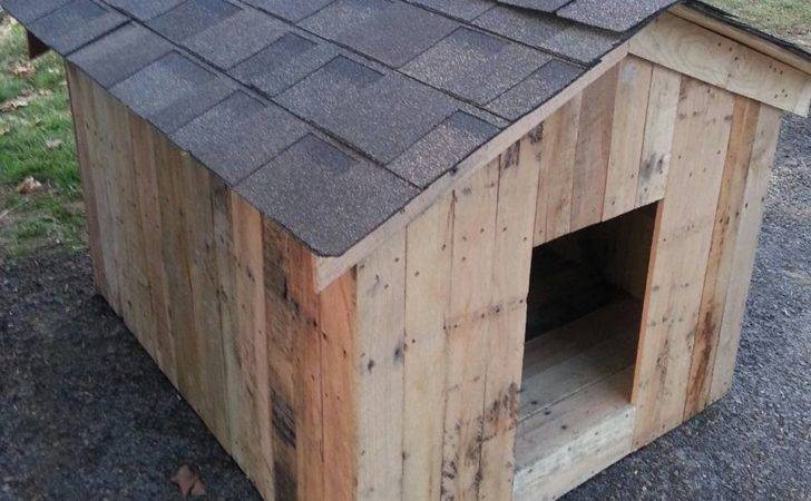 Pallets Build Pet Feeders Pallet Dog House Also Crate Table Plans