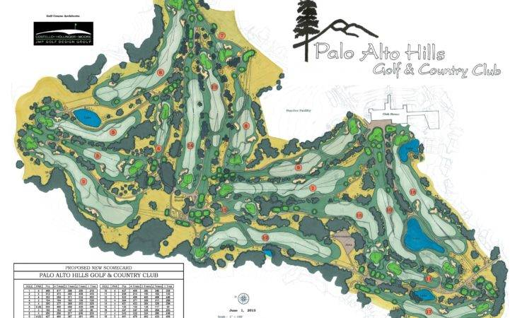 Palo Alto Hills Golf Country Club Hole Private