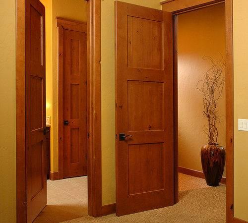 Panel Shaker Doors Interior Arts Crafts Home Design Photos