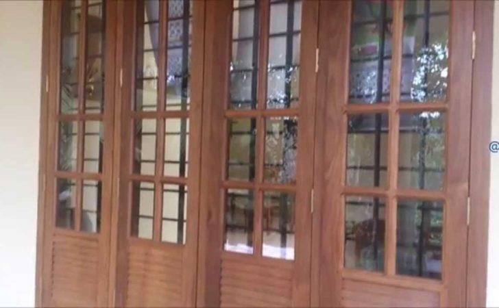 Panel Wooden Window Design Youtube
