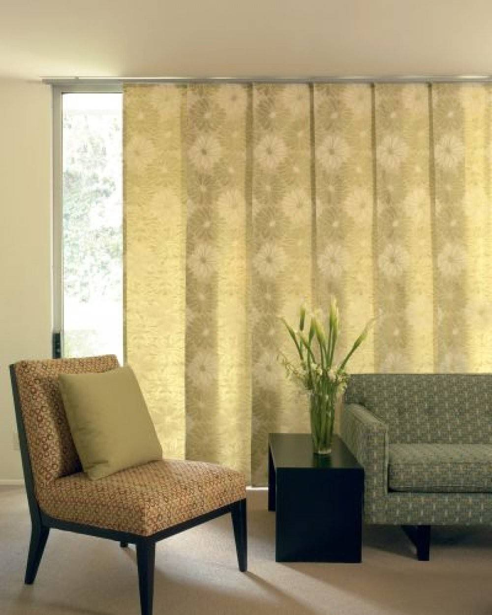 Panels Window Treatments Sliding Glass Doors Delectable Style