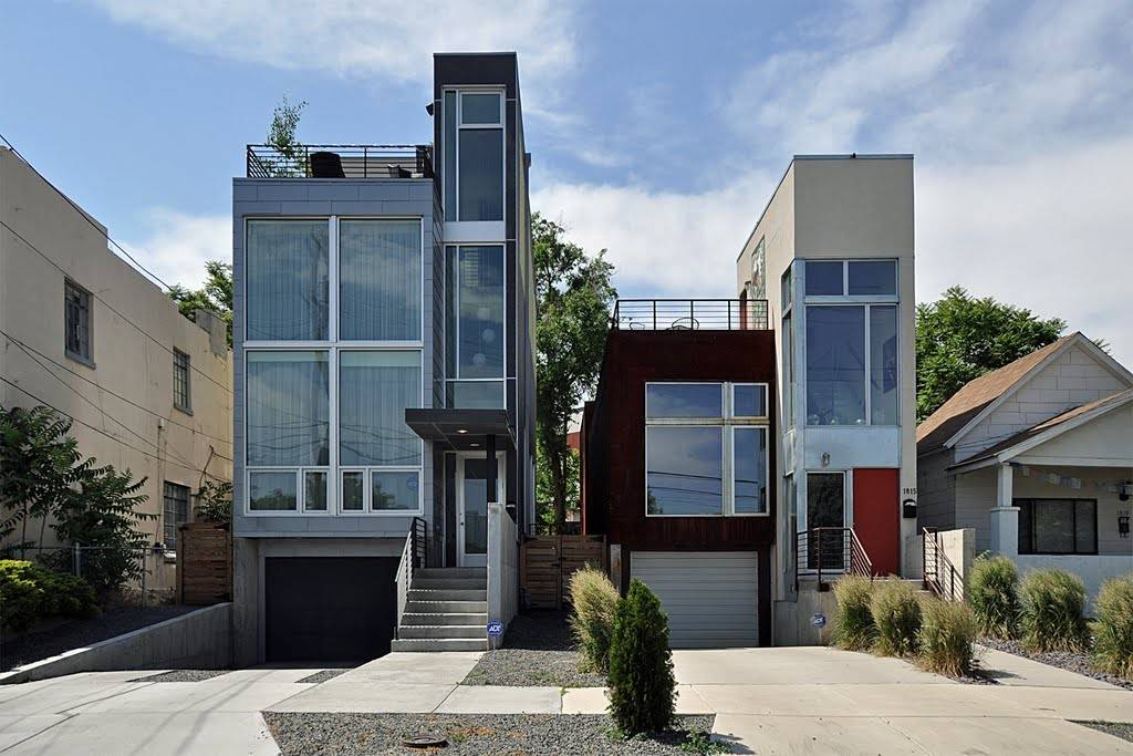 Panoramio Denver Modern Townhomes